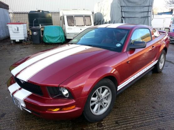 Custom Ford Mustang stripes (1)