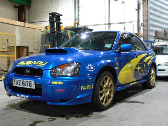Custom Subaru graphics Scooby
